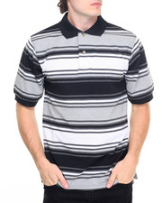 Basic Essentials - Stripe Pique S/S Polo