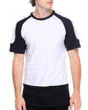Basic Essentials - Shoulder - Ribbed S/S Tee