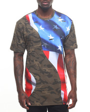 T-Shirts - Vintage Flag S/S Tee