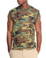Shirts - Rothco Woodland Camo Muscle Shirt