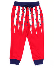 Boys - AMERICANA DRIP FRENCH TERRY JOGGERS (4-7)