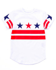 T-Shirts - AMERICANA PATCH TEE (4-7)