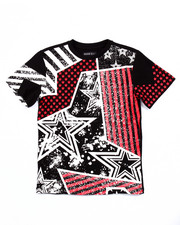 T-Shirts - AMERICANA PATCH TEE (8-20)