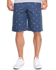 Men - Flag Print Short