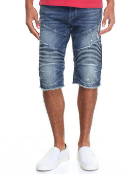 True Religion - Denim Moto Short