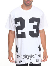Men - 23 Mesh - Sleeved Engineer Bandana - Print S/S Tee