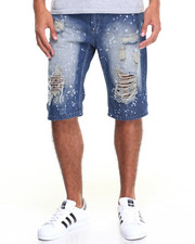 Shorts - Distressed Denim Short