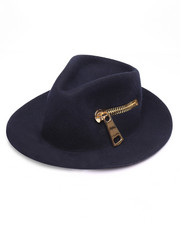 Hats - Mega Zip Fedora Hat