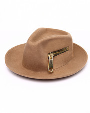 Women - Mega Zip Fedora Hat