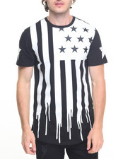 Men - American Dripping Tee