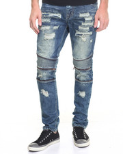 Buyers Picks - R & D Gothic - Moto Ripped Structured Denim Jeans