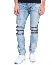 Buyers Picks - R & D STRATOSPHERE Tri - Zip Structured Denim Jeans