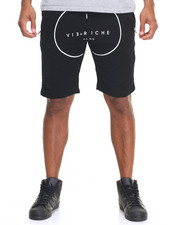 Men - Solid Paneled Pull - On Shorts