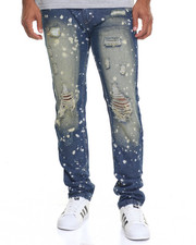 Men - Denim Splatter Jean