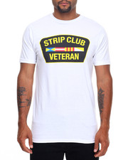 Men - STRIP CLUB VETERAN TEE