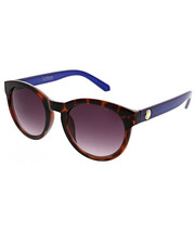 Women - Mod Round Smoke Gradient Tort Sunglasses