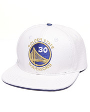 Men - WARRIORS LOGO MVP PREMIUM LEATHER STRAPBACK HAT