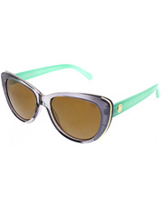 Women - Sleek Cat Mint Temple Metal inlay Sunglasses