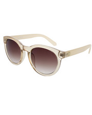 Women - Mod Round Gradient Neutral Sunglasses