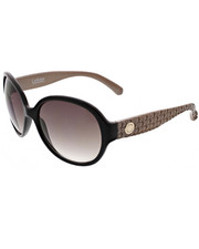 Women - Large Rounded Quilted Textured Temples Sunglasses