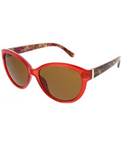 Women - Floral Print Large Rounded Catty Eyes Sunglasses