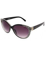 Women - Aztec Print Large Rounded Catty Eyes Sunglasses