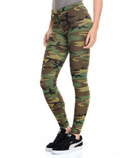 DRJ Army/Navy Shop - Rothco Womens Camo Leggings