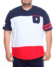 Men - Color Block T-Shirt (B&T)