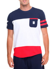 Shirts - Color Block T-Shirt