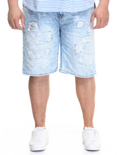 Men - Ripped Denim Shorts (B&T)