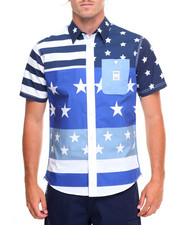 Shirts - Star Stripes S/S Button-Down