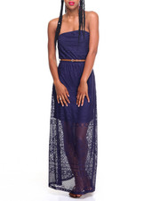 Fashion Lab - Belinda Boho Crochet Maxi