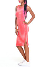 Fashion Lab - Tia Sleeveless Midi Dress w/ Split