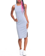 Fashion Lab - Felicia Sleeveless Midi Dress w/ Split
