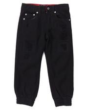 Jeans - DISTRESSED TWILL JOGGER (4-7)