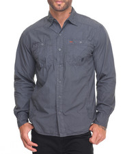 Button-downs - Washed Wrinkled Buttondown