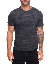 Buyers Picks - Melange Scallop Tee