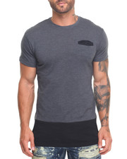Buyers Picks - Side - Zip Slub Jersey Elongated S/S Tee