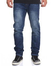 Men - Wipe Wash Slim - Straight Denim Jeans