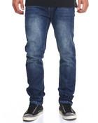 Wipe Wash Slim - Straight Denim Jeans
