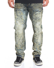 Buyers Picks - Aged - Wash Rip - And - Repair Denim Jeans