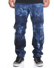 Buyers Picks - Tie - Dye Moto Denim Jeans