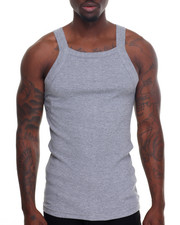 Tanks - Basic Thick - Trim Tank Top