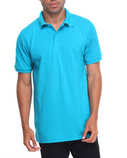 Men - Basic Solid Pique S/S Polo