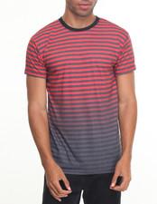 Men - Striped Printed S/S Tee
