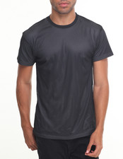 Basic Essentials - Mesh S/S Tee With Contrast Lining