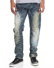 Buyers Picks - Rust - Wash Faded Denim Jeans