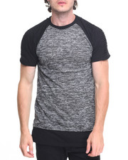 Men - Colorblock Biker Tee