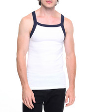 Basic Essentials - Contrast Thick - Trim Tank Top