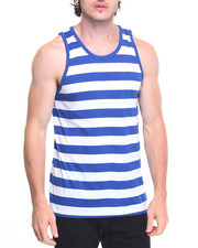 Tanks - Striped Tank Top